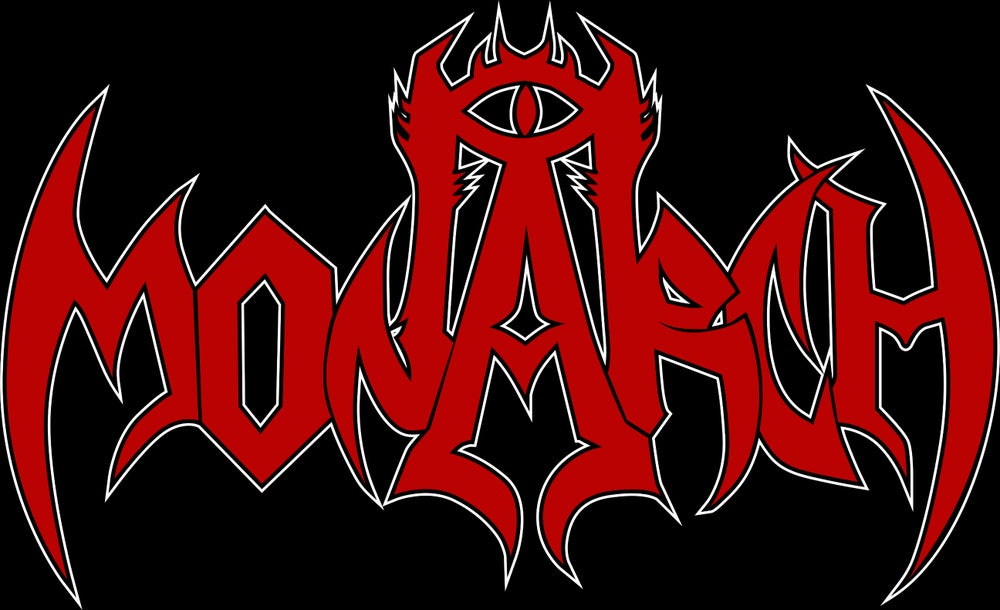 MONARCH BAND LOGO RED