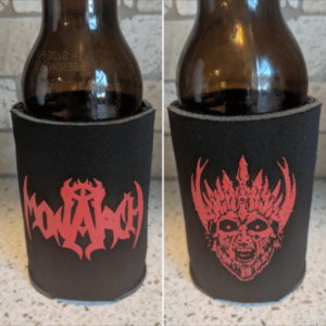 Monarch Red Logo Koozie