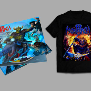 """WARP INTO TOMORROW"" FUTURE SHOCK Digipak CD + T-Shirt Pre-Order Bundle"