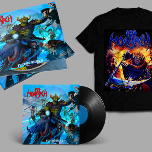 """ULTRA SHOCK"" FUTURE SHOCK Digipak CD + Vinyl + T-Shirt Pre-Order Bundle"